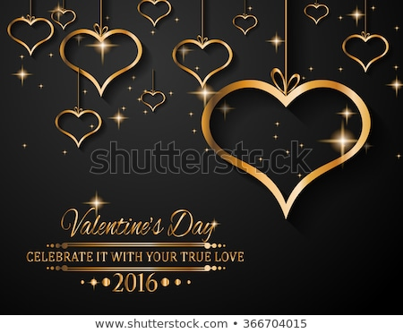Valentine's Day Background for your love themed invitations Stock photo © DavidArts