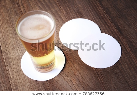 blank drink coasters stock photo © magraphics