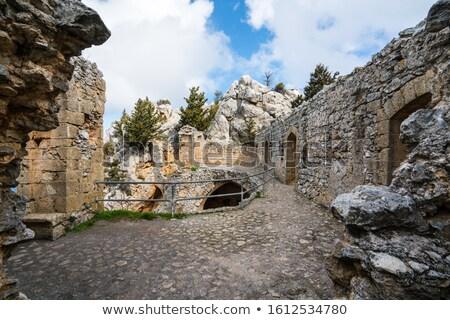 Saint Hilarion Castle. Kyrenia District, Cyprus Stock photo © Kirill_M