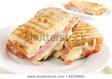 pão · queijo · fatia · marrom · comida · sanduíche - foto stock © digifoodstock