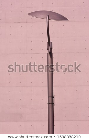 Modern streetlamp and concrete building Stock photo © franky242