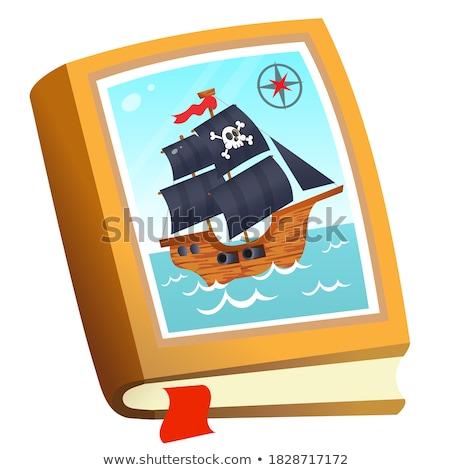 Vector Pirate Book Stock photo © dashadima