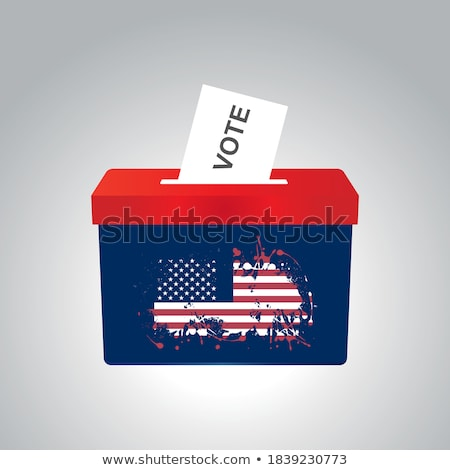 American Election Decision Stock photo © Lightsource