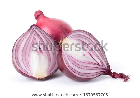 Red Sweet Onion Stock photo © zhekos
