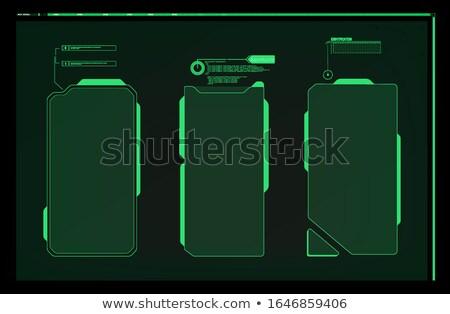 Empty callouts Stock photo © bluering