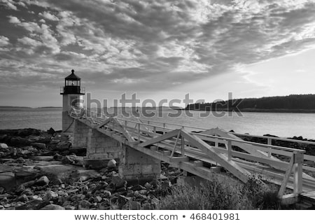 wybrzeża · Maine · ocean · USA · wody · lata - zdjęcia stock © capturelight