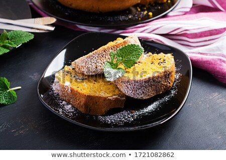 Zucca pagnotta torta stagionale cucina Foto d'archivio © M-studio