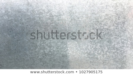 Background texture of a sheet of galvanised metal Stock photo © ozgur