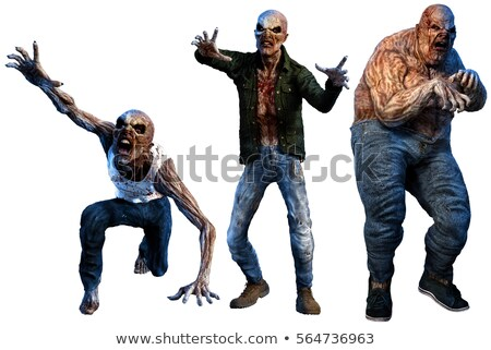 A fat zombie Stock photo © bluering