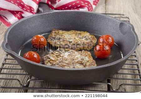 Home made irish black pudding Stock photo © grafvision