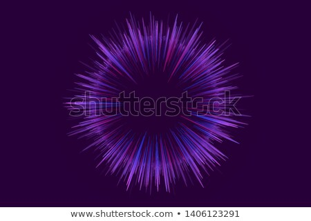 diwali festival fireworks in blue night sky flyer design templat Stock photo © SArts