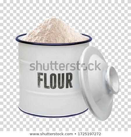 Wholemeal flour Stock photo © yelenayemchuk