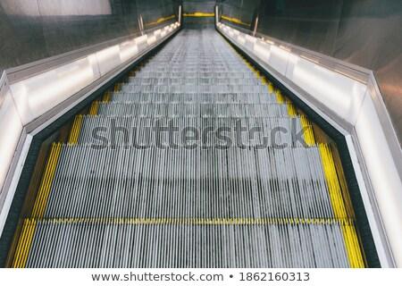 крутой эскалатор оранжевый служба окна архитектура Сток-фото © Hofmeester