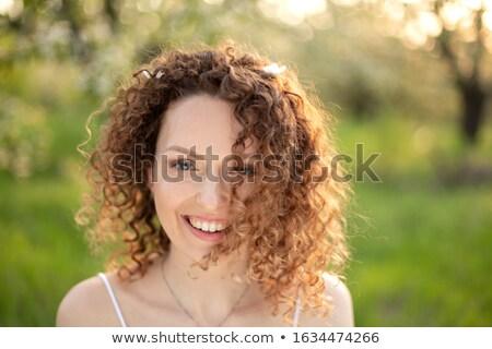 Menina cara meninas mulher olho Foto stock © meshaq2000
