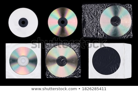 cd and cover black mockup template design Stock photo © SArts