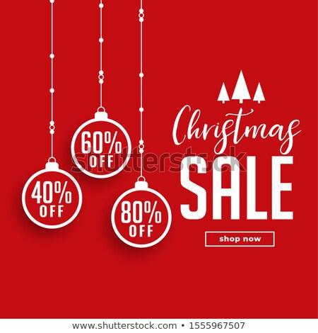 Stock fotó: Karácsony · vásár · utalvány · terv · ajánlat · részletek