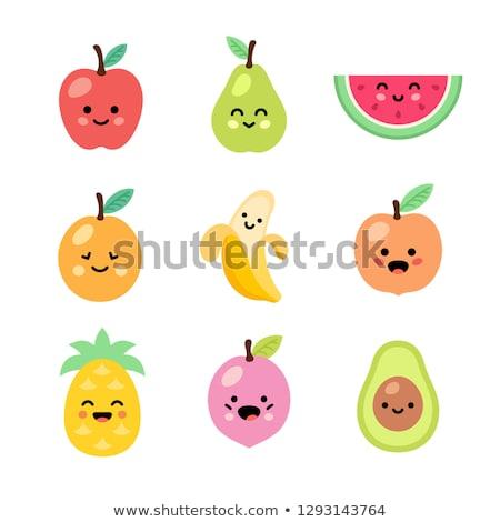 赤ちゃん · フルーツ · 子供 · 白 · 幸せ · スポーツ - ストックフォト © Traimak