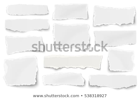 torn paper isolated stock photo © barbaliss