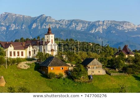 деревне Румыния сельский декораций традиционный румынский Сток-фото © photosebia
