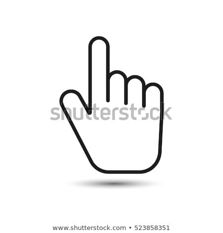 рук мыши женщины детский Top Сток-фото © pressmaster