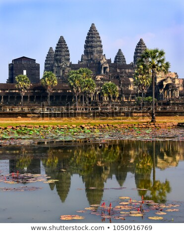 Angkor · Wat · temple · Cambodge · anciens · architecture · panorama - photo stock © jelen80
