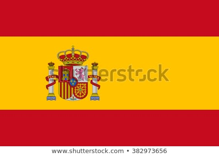 スペイン国旗 空 ビジネス テクスチャ クラウン 国 ストックフォト © almir1968