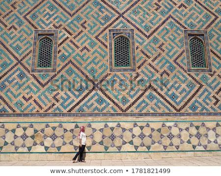 Arab old women_complex Stock photo © toyotoyo