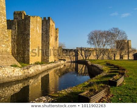 Fortezza dettaglio medievale costruzione rock castello Foto d'archivio © boggy