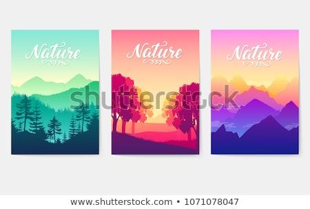 Stockfoto: Zonsopgang · schoonheid · natuur · berg · zonne · stralen