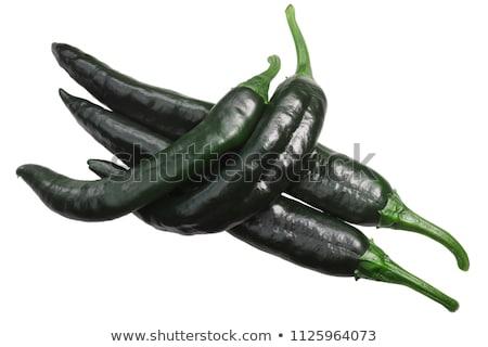 Chile peperoni top maturo essiccati tutto Foto d'archivio © maxsol7