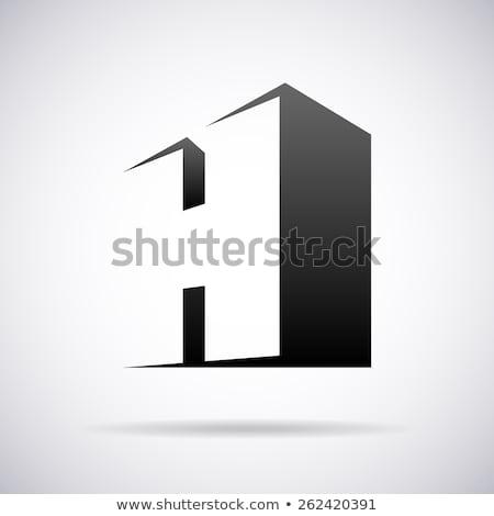 letter h design element vector symbol icon illustration Stock photo © blaskorizov