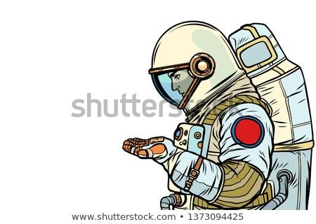 星 · 青 · 男 · 空 · 手 · シルエット - ストックフォト © studiostoks
