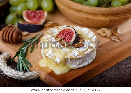üst · görmek · İtalyan · tost · sarımsaklı · ekmek · salatalık - stok fotoğraf © alex9500