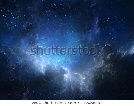 дыра Blue Sky небе фон лет Восход Сток-фото © inxti