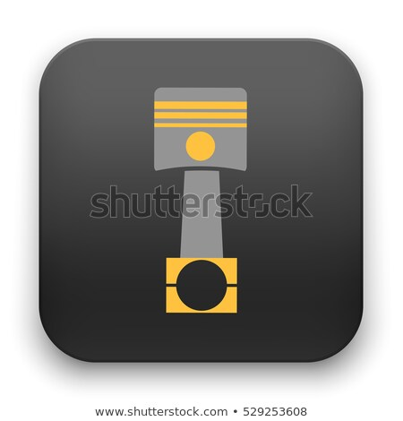 car motor piston icon stock photo © angelp
