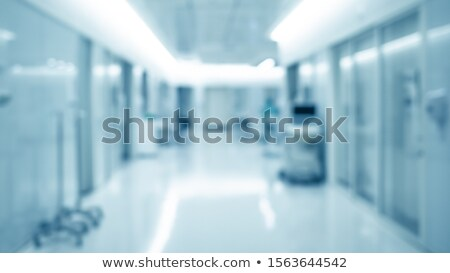 Abstract blur hospital corridor defocused Medical background Stock photo © Lopolo