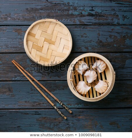 традиционный китайский кухня палочки для еды пластина изолированный Сток-фото © robuart