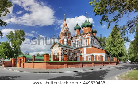 church of the archangel michael yaroslavl stock photo © borisb17