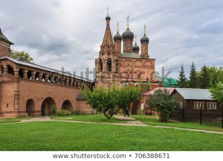 reizen · Moskou · Rusland · kathedraal · Red · Square · kerk - stockfoto © borisb17