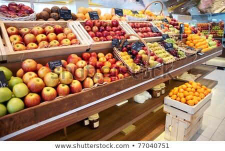 Agrios frutas mercado pantalla naranja mesa Foto stock © Elnur
