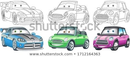 toys icons coloring book stock photo © sifis