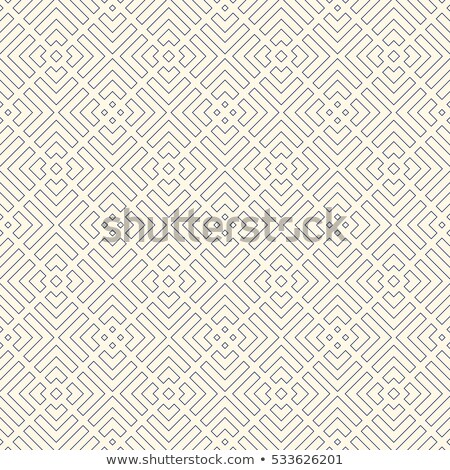Abstrato sem costura labirinto padrão geométrico prata Foto stock © Imaagio
