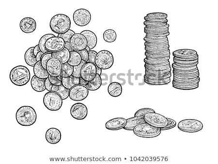 Monet metal ceny monochromatyczny Zdjęcia stock © pikepicture