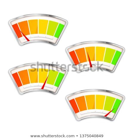 Előadás mérés index különböző érték fehér Stock fotó © evgeny89
