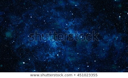 Blue deep space background with bright stars and constellations Stock photo © evgeny89