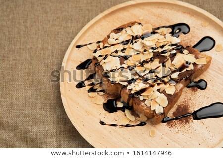 Tasty fresh nuts is spilt Stock photo © RuslanOmega