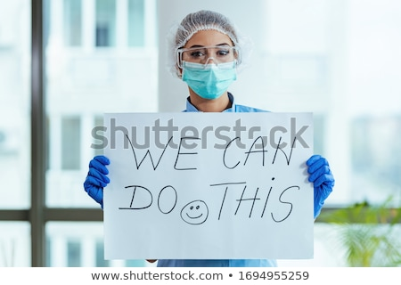 医療 · 肖像 · 眼鏡 · 見える · 病気 · 少女 - ストックフォト © pressmaster