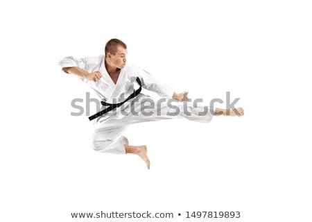 karate · chłopca · skoki · dziecko · mężczyzn · skok - zdjęcia stock © Paha_L
