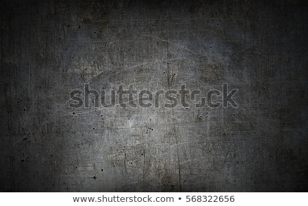 Industrial metal aluminio hoja pared negro Foto stock © IMaster