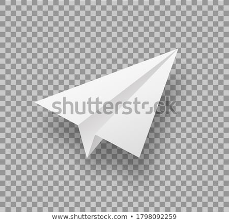 Paperplane Stock photo © leeser